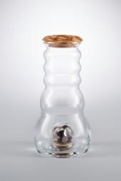 Cadus Krug 1,5 Liter mit Edelsteinen und Olivendeckel