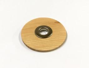 Zirbenholzdeckel mit Loch für Diffusor