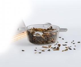 Borosilikat Räucherschälchen für Duftlampe Odoris